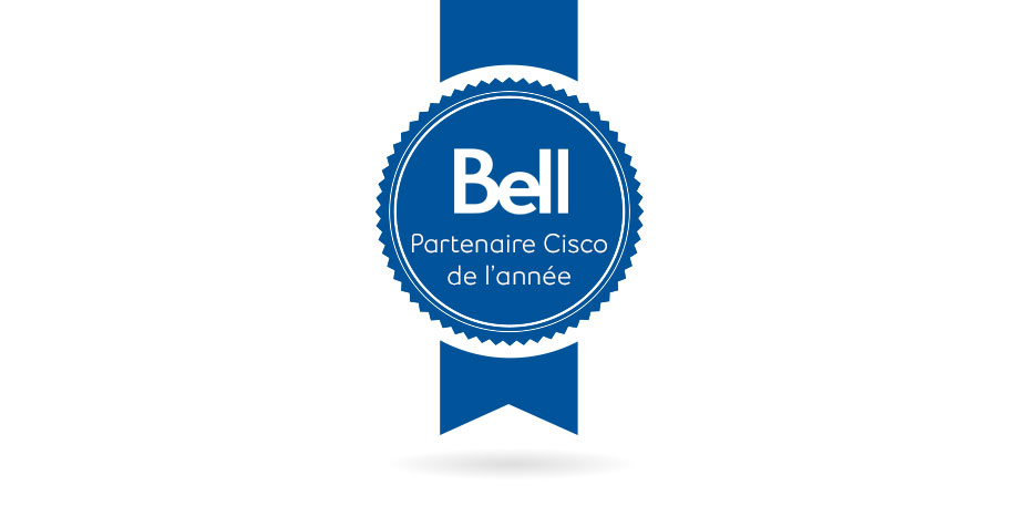 Bell remporte un prix historique au Cisco Partner Summit 2018 image text