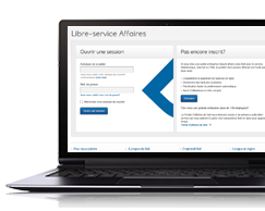 Libre-service Affaires