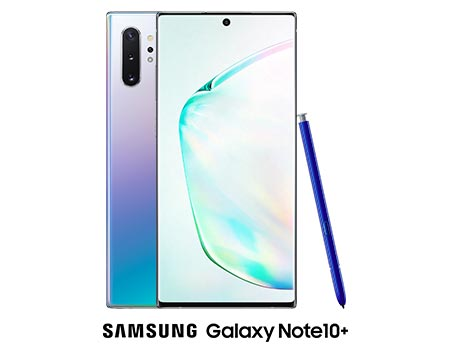 Le Samsung Galaxy Note10+.